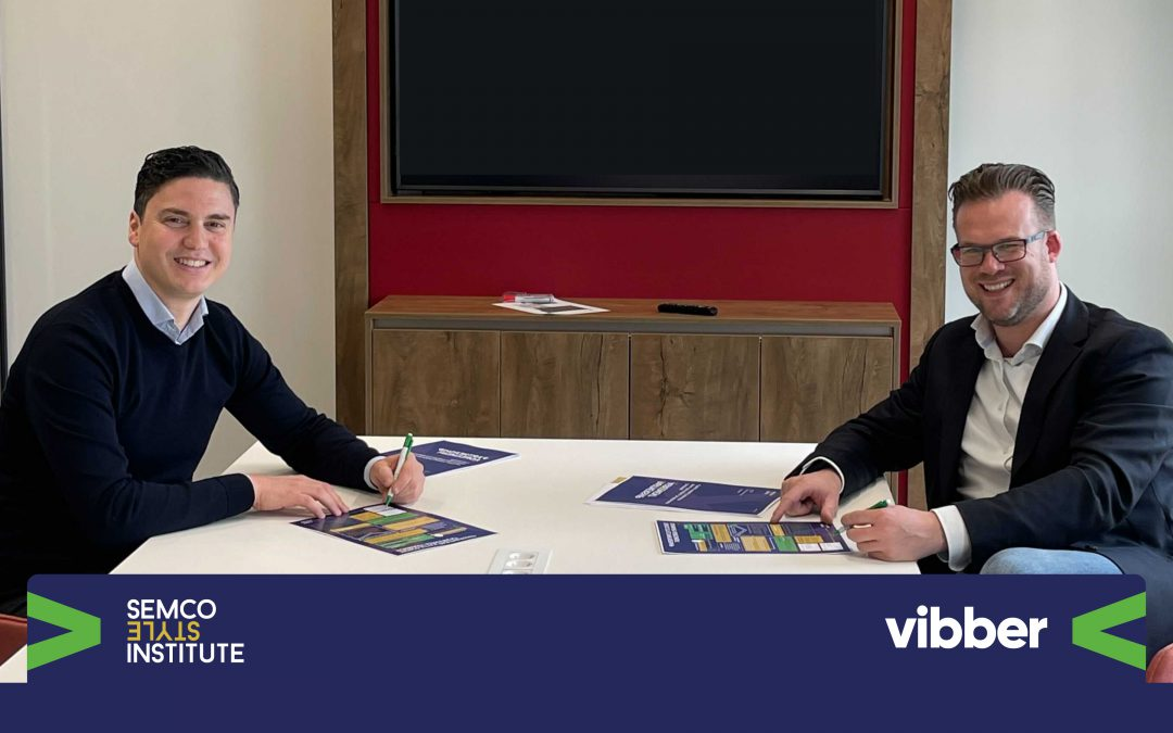 Vibber officieel partner van Semco Style Institute